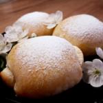 Хоккайдо молочные булочки с джемом