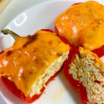 Тёплая закуска из болгарских перцев