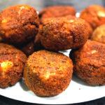 Рисовые шарики с ветчиной и сыром