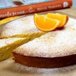 Мандариново — миндальный пирог
