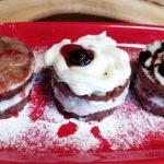 Шоколадное бисквитное пирожное с заварным кремом «вдохновение»
